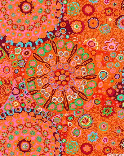 Kaffe Fassett I find myself liking orange more