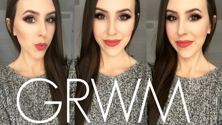 GRWM: Urban Decay Gwen Stefani Palette, Two Lipsticks + Pamper Routine