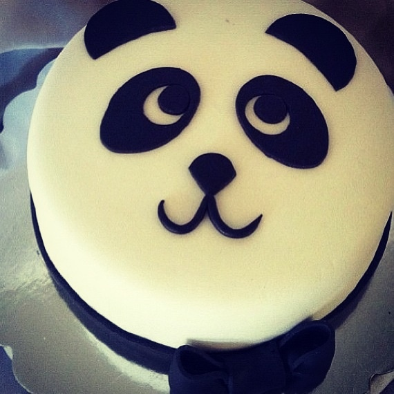 Cute Panda Birthday Cake Cakes Panda Birthday