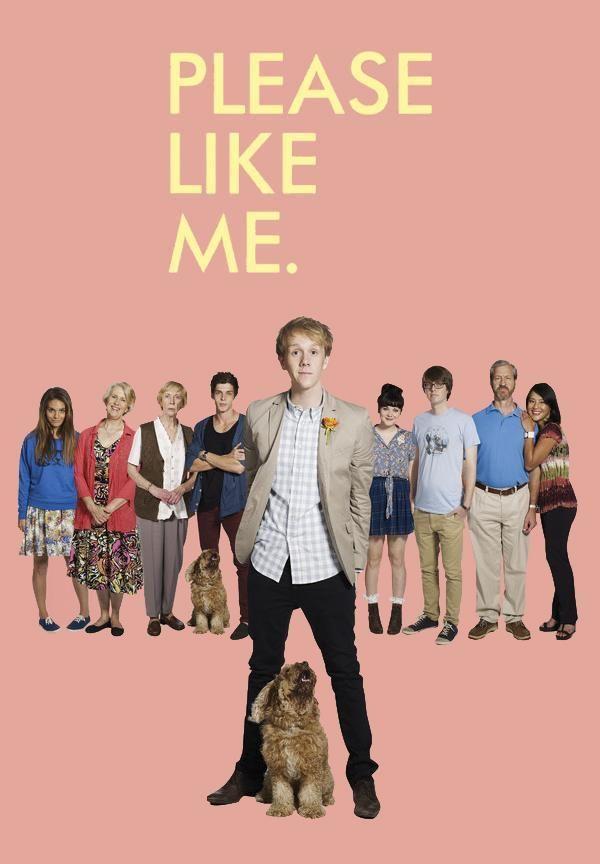 Please like me Tv Series 2013, Netflix Series, Book Series, Clancy Brown, Eddie Cibrian, Please Like Me, Owen Wilson, Katharine Mcphee, Josh Duhamel
