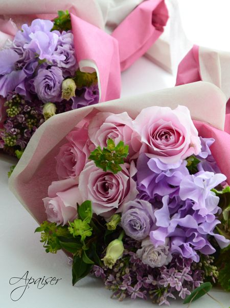 ご両親用贈呈花束|ウエディングフラワー |ウエディングブーケ&フラワーアレンジメント教室 福岡アペゼ