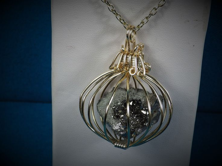 Brand New Item added to our Catalog Black Quartz Cage... Just in time for the Holidays http://bestwirejewelry.com/products/black-quartz-cage-locket?utm_campaign=social_autopilot&utm_source=pin&utm_medium=pin You will Love!