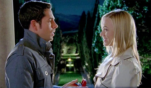 Chuck and Sarah (Zachary Levi and Yvonne Strahovski), Chuck