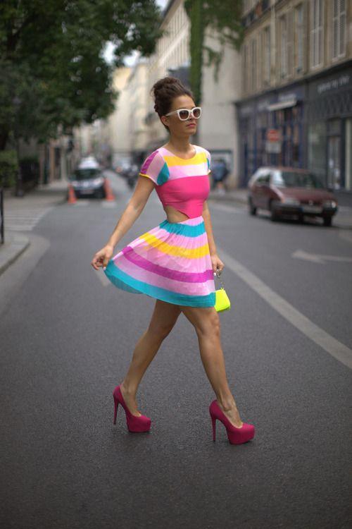 If I had a body like that I'd wear stuff like this!