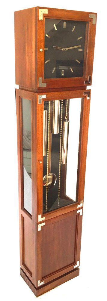 Herschede Hermale Tall Case Clock Overhauled @ $456 in 2007 * BEST DEAL ON EBAY!