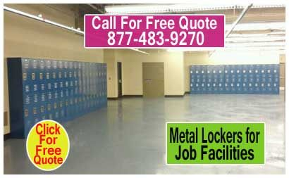 Metal-Lockers-For-Job-Facilities: XPB Locker recently installed three bays of metal lockers in the Lighthouse for the Blind, located in San Antonio, Texas.  The lockers were installed in the facility to provide workers with personal storage units.  This installation was completed before the facility opened in anticipation of new initiatives undertaken by the Lighthouse for the Blind on behalf of visually impaired persons