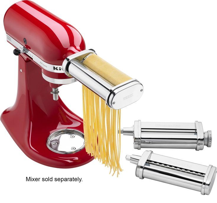 Ksmpra pasta roller attachments for most kitchenaid stand