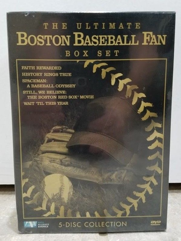 New Boston Red Sox Fan Box Set 5 Dvd Faith Rewarded History Rings True Red Socks Fan Boxset Boston Red Sox