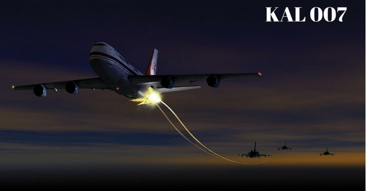 KAL-007 - The Boeing 747 Shot Down By Soviet Fighters Over International Waters - https://www.warhistoryonline.com/guest-bloggers/kal-007-the-airline-shot-down-by-soviet-fighers.html