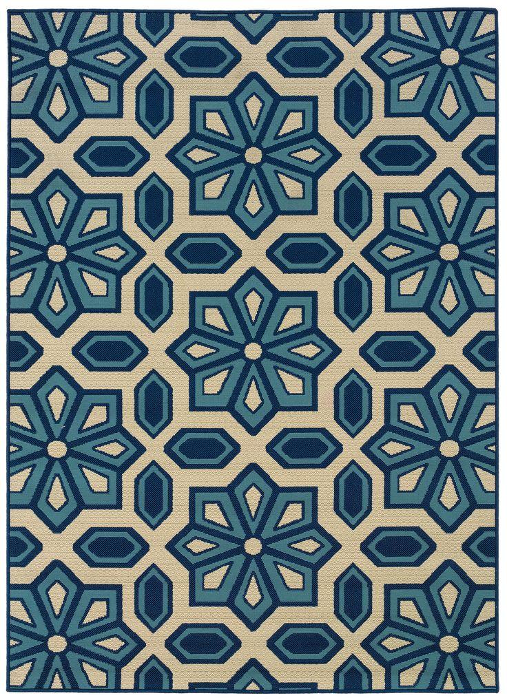 oriental weavers caspian ivoryblue rug wayfair