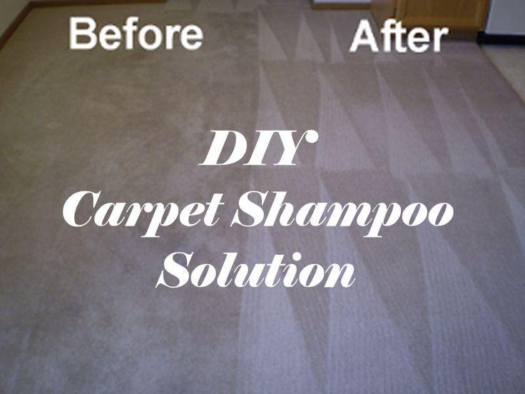 DIY Carpet Shampoo Solution