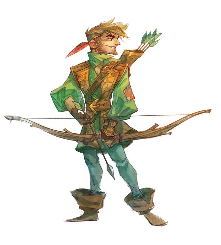 I was invited recently to a book project by Masters of Anatomy focused on redesigning 8 core cast members from the story of Robin Hood.