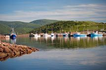 Cape Breton where the fiddlers and seafood are plentiful.: Getting to Cape…
