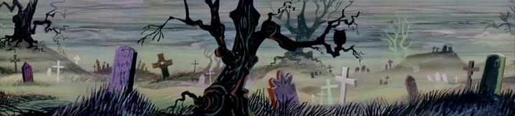 Animation Backgrounds: Mr.Magoo's CHRISTMAS CAROL