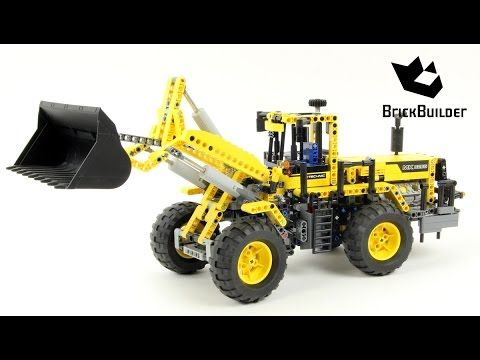 Lego Technic 8265 Front Loader - Lego Speed build