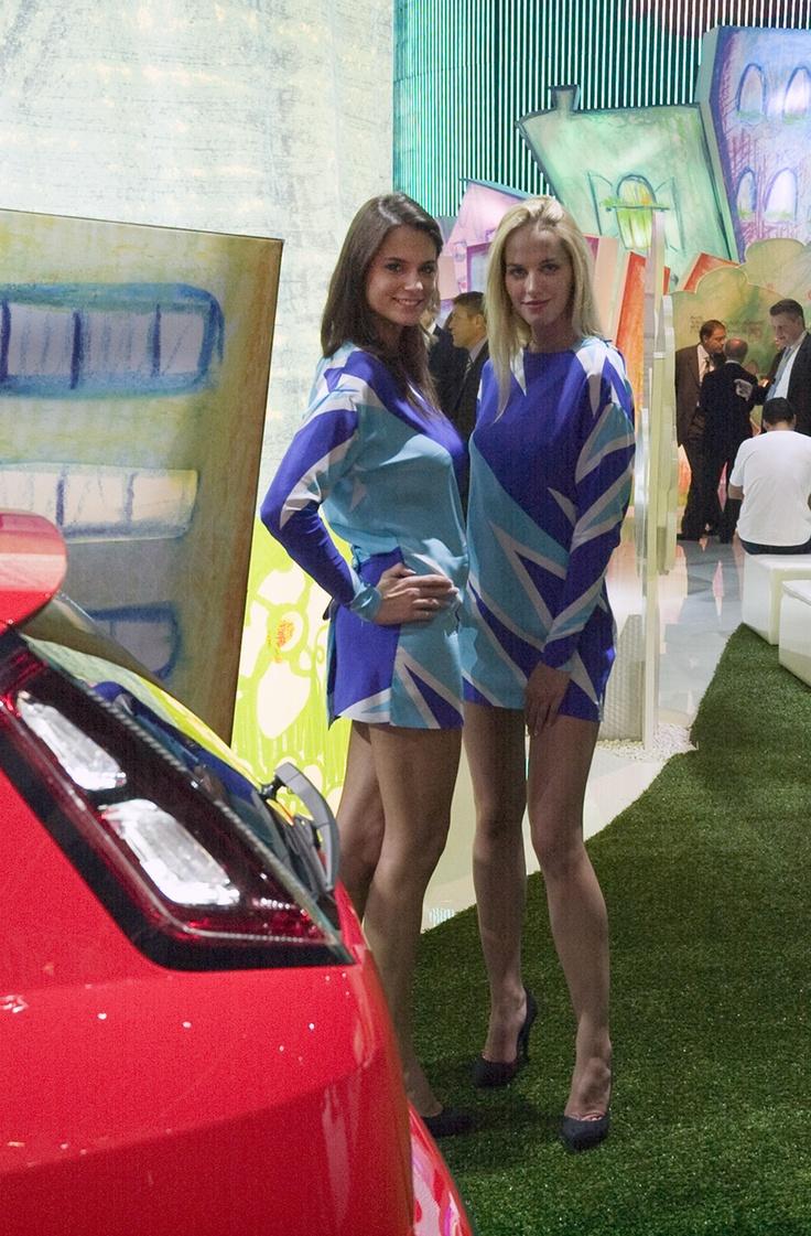Alfa Romeo Babes at the Francfort Motorshow 2009