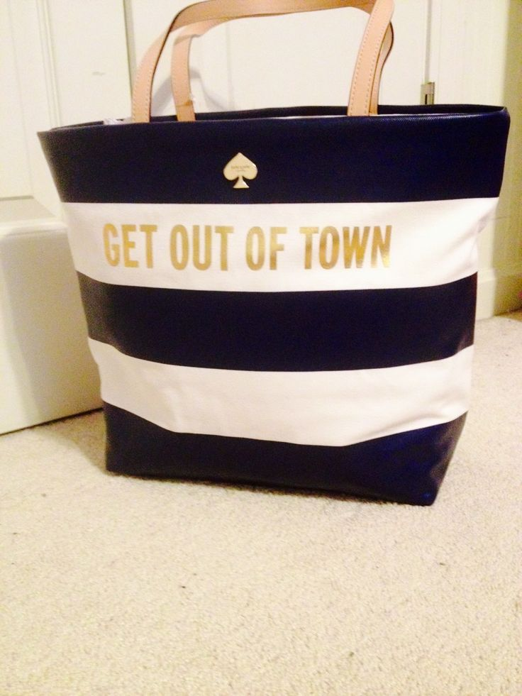 KATE SPADE 'Get Out Of Town' Tote ✤HAND'me.the'BAG✤