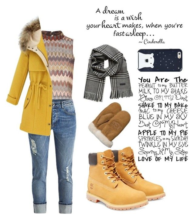 """""""Winter"""" by anicute on Polyvore featuring Glamorous, Timberland, Jack & Jones, UGG Australia, Kate Spade, women's clothing, women, female, woman and misses"""