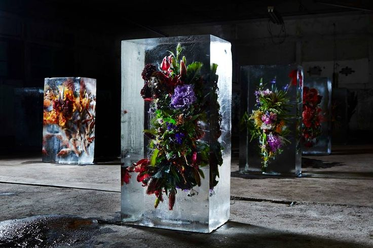 <p>I always been a super fan since I met the Flower Master Azuma Makoto in Tokyo. Here he is coming back with some more awesome botanical art. For this series called 'Iced Flowers' him and his team froze 16 gorgeous bouquets in large ice blocks, the result is of course splendid but unfortunately temporary… Epoxy […]</p>
