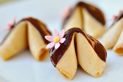 fortune cookie wedding favour