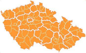 Kam na výlet portál - mapa okresů