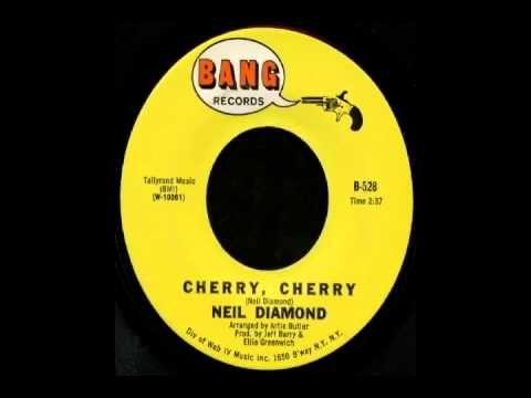Neil Diamond - Cherry Cherry (1966) - YouTube
