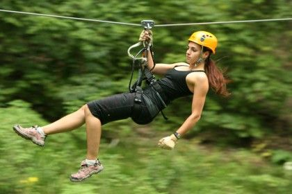 ZIP LINING!!!!!!!! DONE JULY 5,2013.