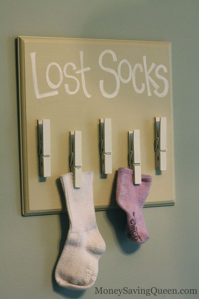 Solution for Lost Socks in the Laundry