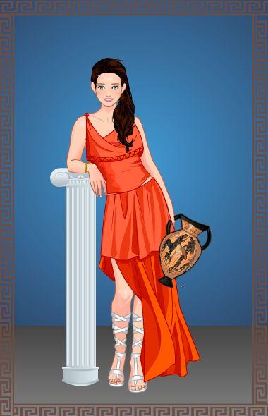 Azalea's Dolls, Ancient Greece. Me