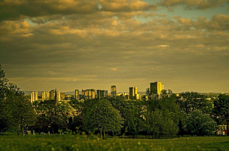 Skyline of Media City UK by Jakub Hajost on 500px