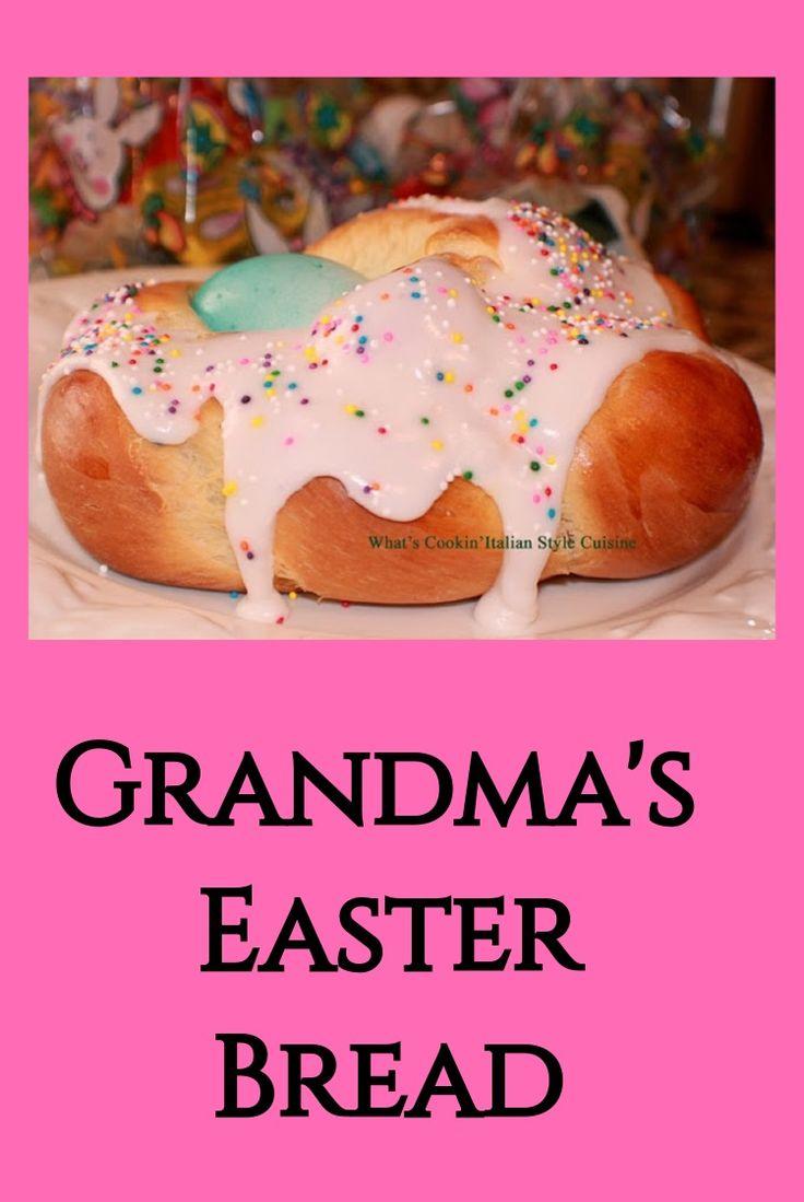 Grandma Easter Bread #easter #bread #pegasuslegend #whatscookinstyleitaliancuisine #grandma #dessert #easteregg #easterbasket #baking #anisette #hardboiled #eggs #yeast #risen #easterbread