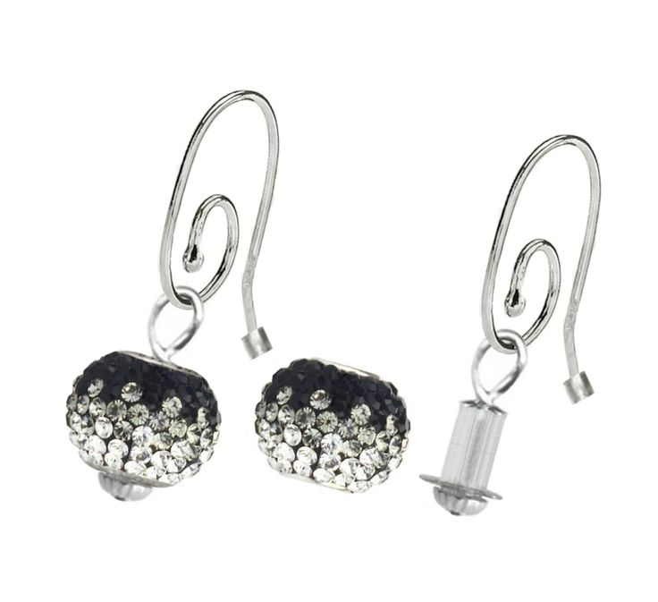 Interchangeable Sterling Silver Pandora Brand Earrings