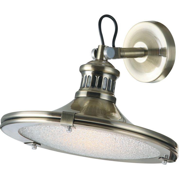 Lámpara aplique pared LED estilo vintage #decoracion #iluminacion #diseño #lamparasinterior #apliquespared #lamparas #retro #vintage