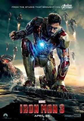 Homem de Ferro 3 - coloca o o impetuoso, porém brilhante, industrial Tony Stark contra um vilão cujo alcance não conhece limites. Quando Stark vê o seu mundo pessoal destruído pelas mãos de seu inimigo, ele embarca em uma caçada para encontrar os responsáveis. Essa jornada, a cada curva, irá testar os seus valores. Encurralado, Stark é obrigado a sobreviver às custas de seus próprios equipamentos, confiando em seus instintos e ingenuidade. (Filme de 2013)