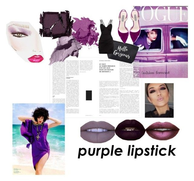 """Purple Is The Red"" by ashleymonroe ❤ liked on Polyvore featuring beauty, Bobbi Brown Cosmetics, Surratt, Charlotte Tilbury, RuMe and SJP"