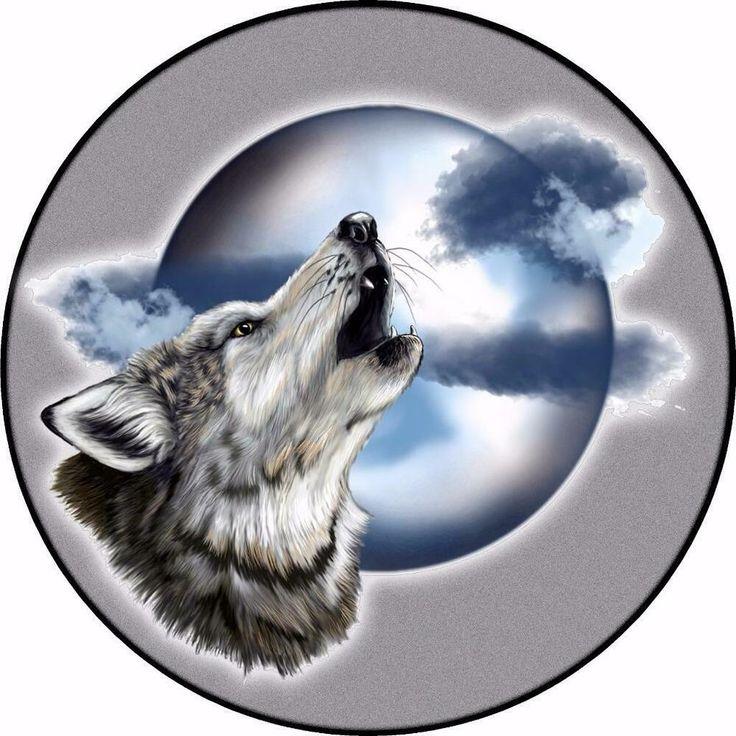 Картинки волков фотопечатью