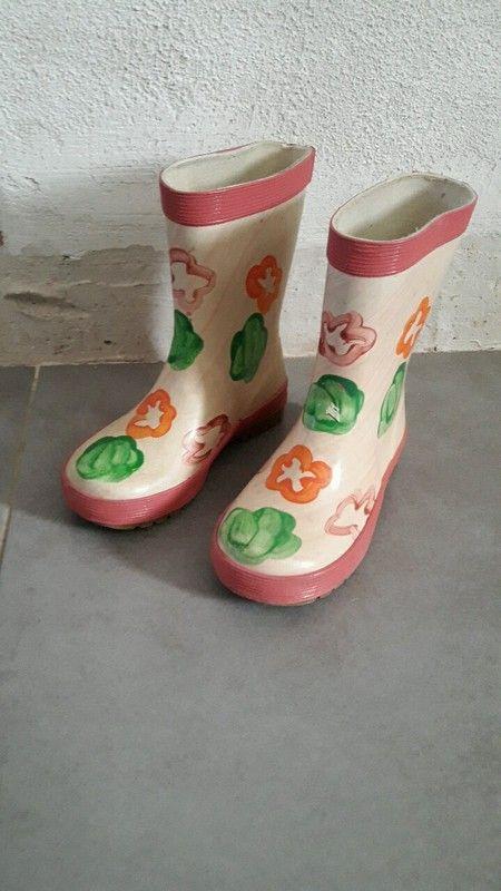 Bottes de pluie fille taille 27