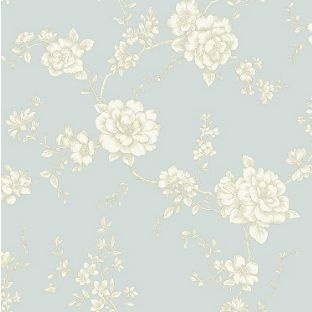 Arthouse vintage belvoir wallpaper teal from for Wallpaper homebase