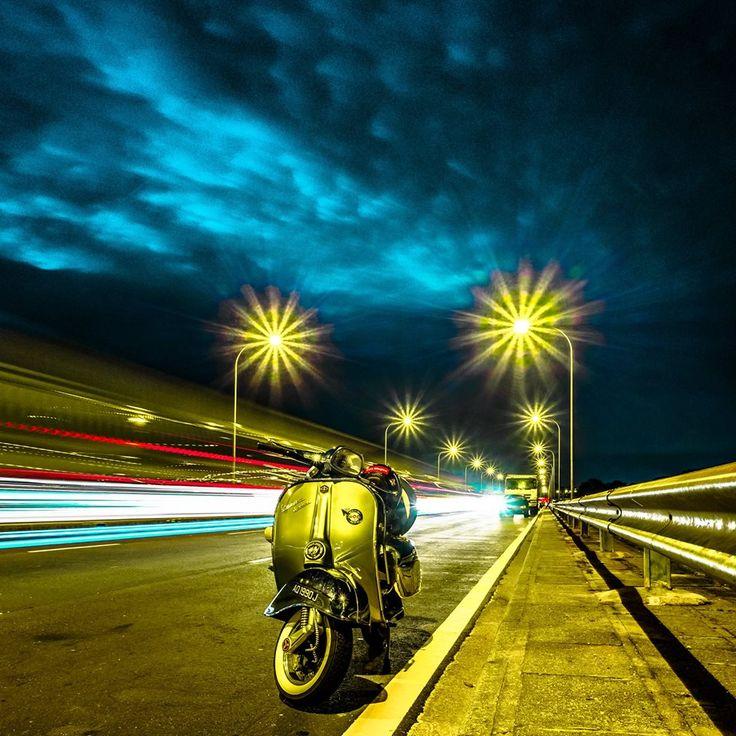 "FreeMan Loke   Photographer   Singapore ""Twilight Scooter""   夜行机车 http://photojournal.eu/freeman-loke-photographer-singapore/?lang=en"