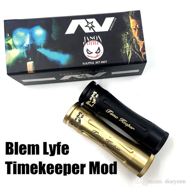 Newest Blem Lyfe Timekeeper Mod Mechanical Mod 24mm E Cigarettes Fit 18650 Battery Time Keeper Mod Fit 510 Atomizers Newest Ecig Mods Vaping Mods Cheap From Diarymm, $12.27| Dhgate.Com