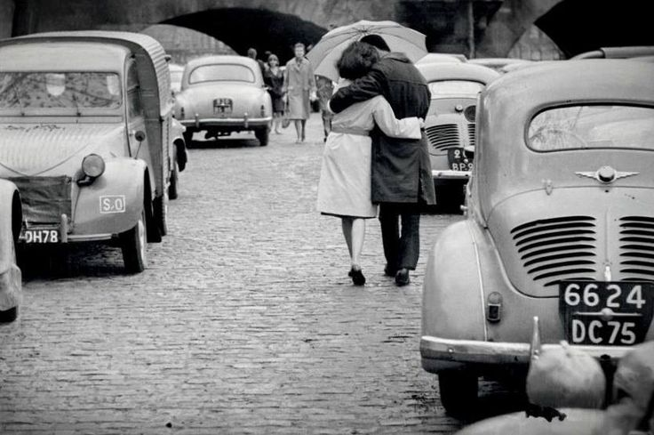 Les amoureux du Pont Neuf, Paris 1962 (Daniel Lebée)