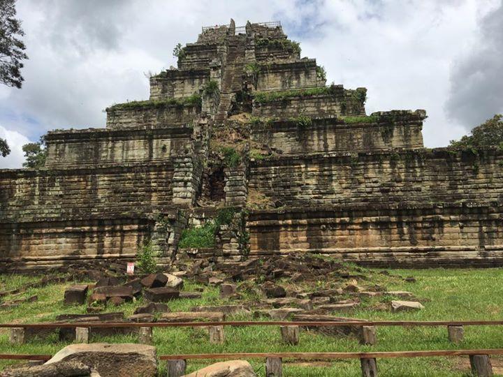 #kohke temple in #preahvihear province #cambodia