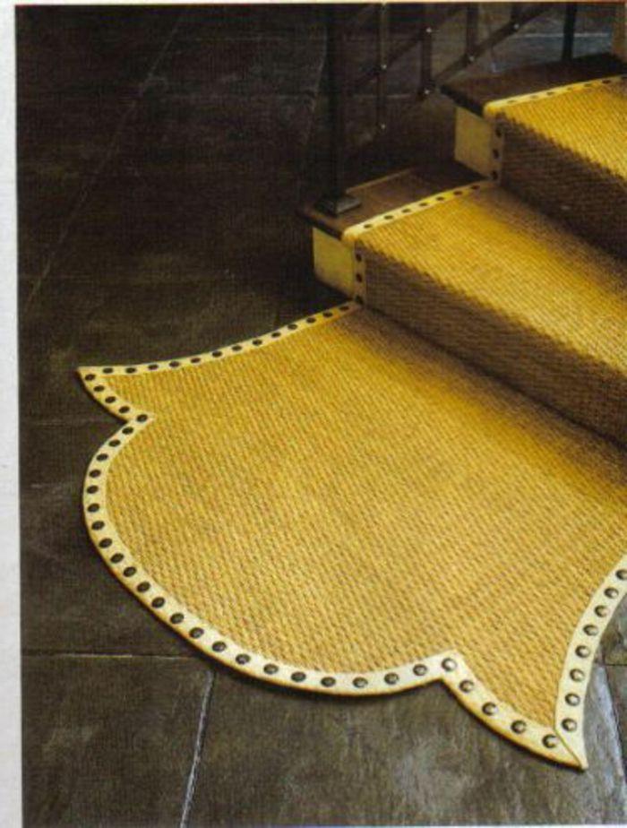 Carrelage Design tapis d escalier pas cher : tapis escalier pas cher, tapis pour escalier jaune, escalier en bois
