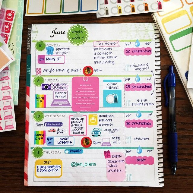 179 best Planner images on Pinterest Planner ideas, Planners and - college planner organization