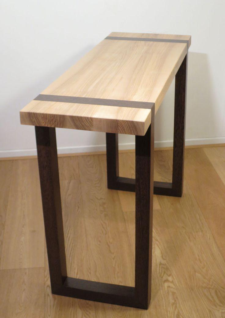 Console design en bois massif Wenge Frêne : Meubles et rangements par materia