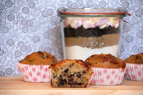 Backmischung Im Glas Für Marshmallow Schoko Muffins Aus Dem Ebook