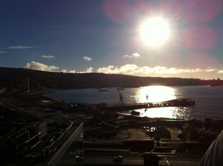Valparaíso desde cerro Barón
