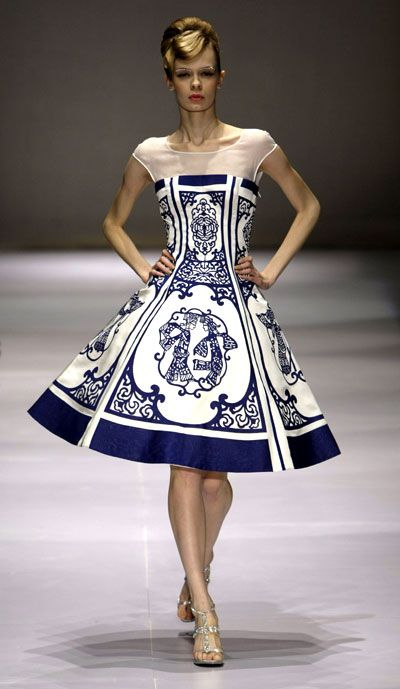 Princess Casual Garb China Fashion Week features Haute Couture Show - eBeijing.gov.cn Fabric + general shape?