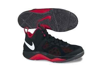 Nike Boys Dual Fusion Basketball Shoe Black/University Red/Anthracite/White Size 4 Nike. $68.94