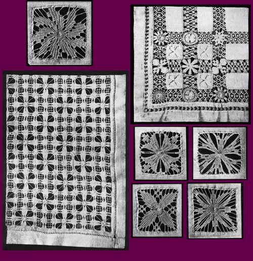 Iva Rose Vintage Reproductions - Needlecraft Practical Journal #38 c.1904 - Drawn Thread Work